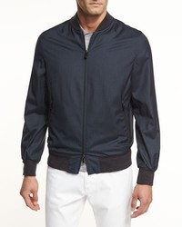 Ermenegildo Zegna Second Skin Lightweight Bomber Jacket