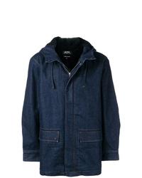 A.P.C. Hooded Denim Jacket