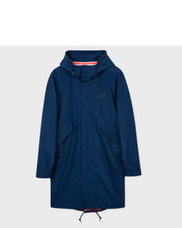 Paul Smith Navy Lightweight Waterproof Fishtail Parka