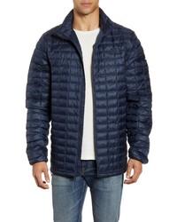 Navy Lightweight Puffer Jacket