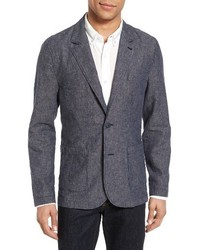 AG Jeans Ag Trunnel Slim Fit Linen Blend Blazer