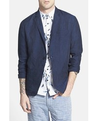 AZUL by moussy Azul Unstructured Linen Sport Coat