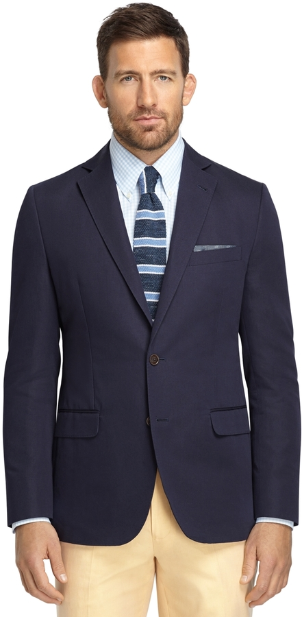 Brooks Brothers Fitzgerald Fit Cotton And Linen Sport Coat | Where