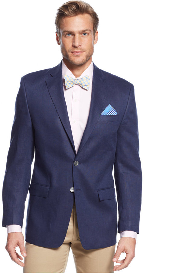 Lauren Ralph Lauren Solid Linen Classic Fit Sport Coat | Where to