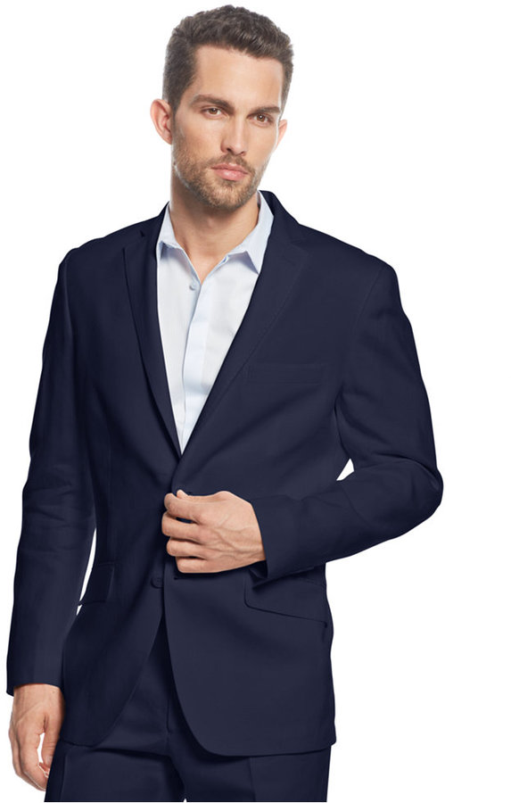 INC International Concepts Smith Linen Blend Blazer | Where to buy ...