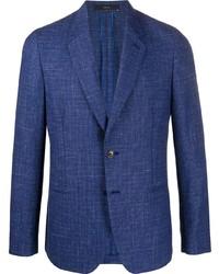 Paul Smith Textured Single Breasted Blazer