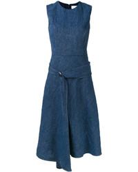 Victoria Beckham Asymmetric Draped Dress