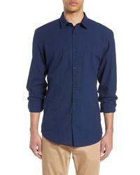 Selected Homme Slim Fit Linen Sport Shirt