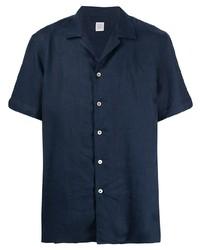 Eleventy Linen Short Sleeved Shirt