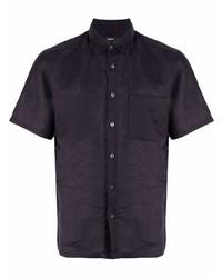 Theory Plain Short Sleeved Shirt