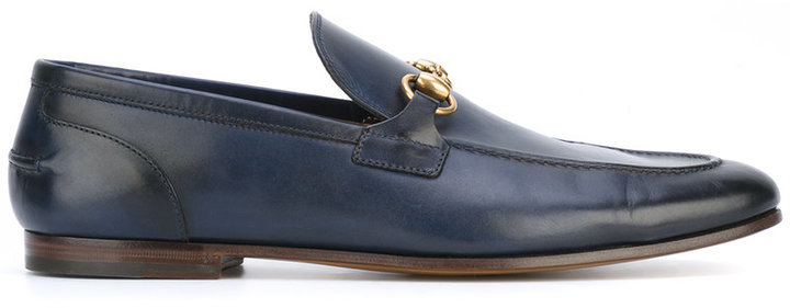 be1a2c73d14 ... Navy Loafers Gucci Jordaan Loafers ...