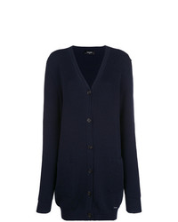 Dsquared2 Long Ribbed Cardigan
