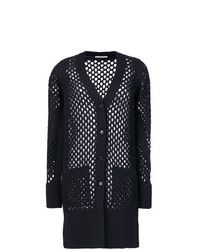 dorothee schumacher Open Weave Long Line Cardigan