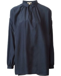 Burberry Brit Oversized Collar Blouse