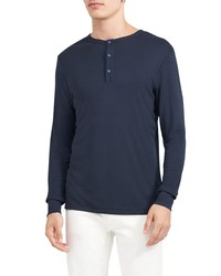 Theory Essential Anemone Henley