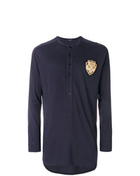 Balmain Lion Long Sleeved T Shirt