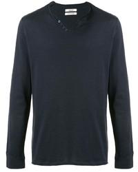 Zadig & Voltaire Zadigvoltaire V Neck Long Sleeve T Shirt