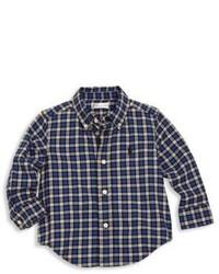 Ralph Lauren Babys Cotton Twill Plaid Shirt