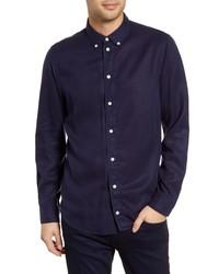 WAX LONDON Bampton Slim Fit Tencel Lyocell Shirt