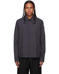 Moncler Black Nylon Shirt