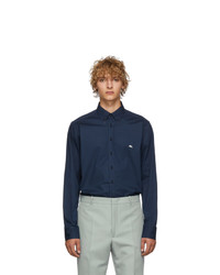 Etro Blue Poplin Shirt