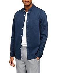 Topman Classic Fit Twill Shirt