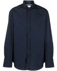 Brunello Cucinelli Cutaway Collar Cotton Shirt