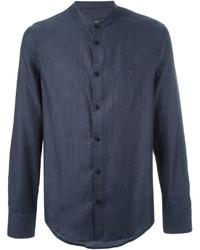 Emporio Armani Band Collar Shirt
