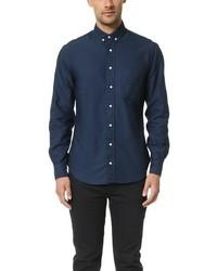Gitman vintage overdye oxford shirt medium 584486
