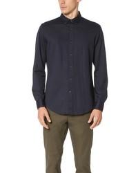 Club Monaco Long Sleeve Knit Shirt