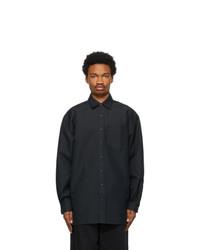 Acne Studios Navy Oversized Shirt