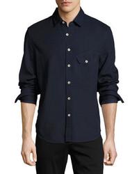 Joe's Jeans Nep Woven Sport Shirt Blue