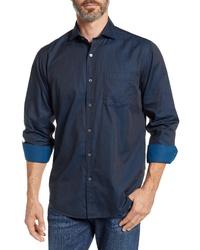 Bugatchi Shaped Fit Sport Shirt