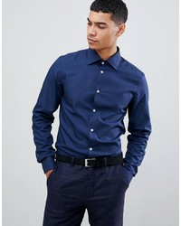 Pier One Shirt In Dark Blue