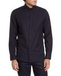 Calibrate Slim Fit Blue Shirt