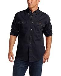Navy Long Sleeve Shirt