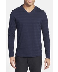 Hugo Boss Boss Molino Regular Fit V Neck T Shirt