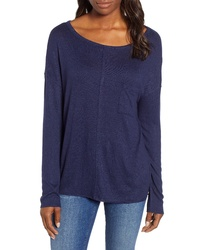 Caslon Cozy Pocket Top