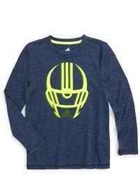 adidas Determination Long Sleeve Climalite T Shirt