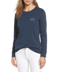 Long sleeve pocket tee medium 4154680