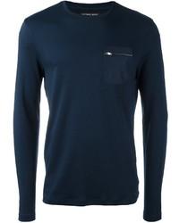 Michael Kors Michl Kors Zipped Pocket Longsleeved T Shirt