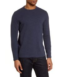 Nordstrom Men's Shop Ottoman Ribbed Long Sleeve T Shirt