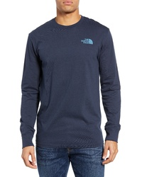 The North Face Red Box Long Sleeve T Shirt