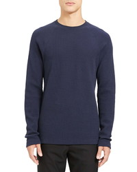 Theory River Thermal Stitch Long Sleeve T Shirt