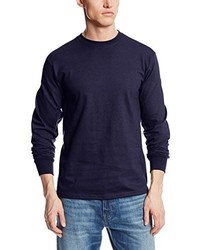 Soffe Long Sleeve Cotton T Shirt