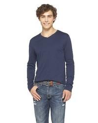 Mossimo Supply Co Long Sleeve V Neck T Shirt