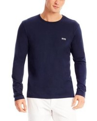 Hugo Boss Togn Cotton Long Sleeve T Shirt