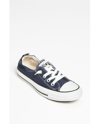 Navy Low Top Sneakers