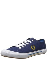 Fred Perry Vintage Tennis Canvas Fashion Sneaker a712d309a11