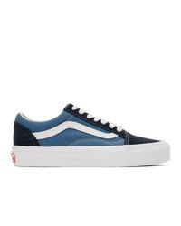 Vans Navy Og Old Skool Lx Sneakers